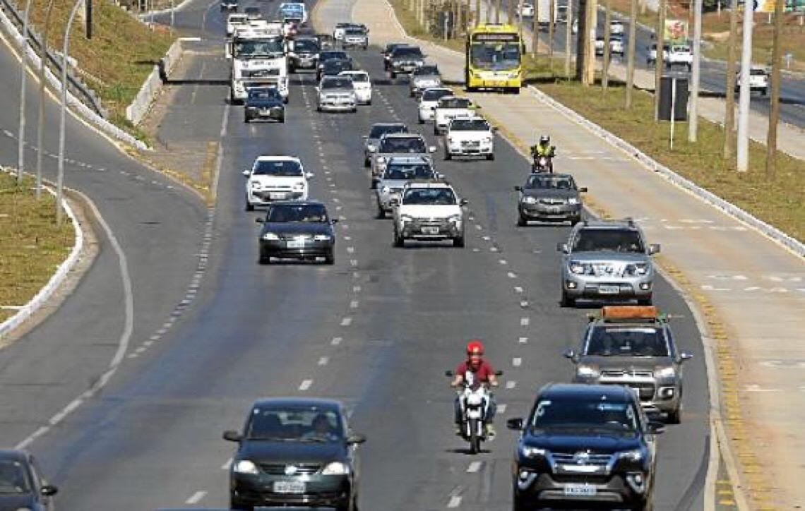 Em Brasília é hora de pagar o IPVA
