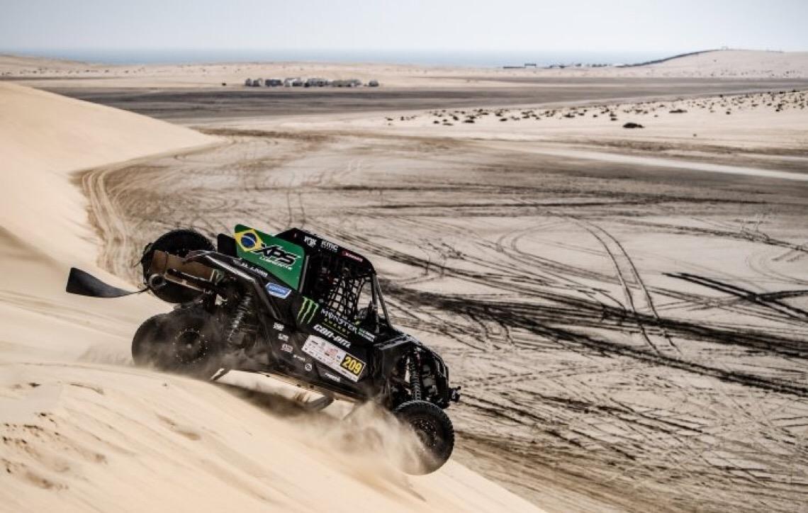 Brasil é campeão da primeira etapa do Mundial de Rally Cross Country no Catar com Reinaldo Varela e Gustavo Gugelmin