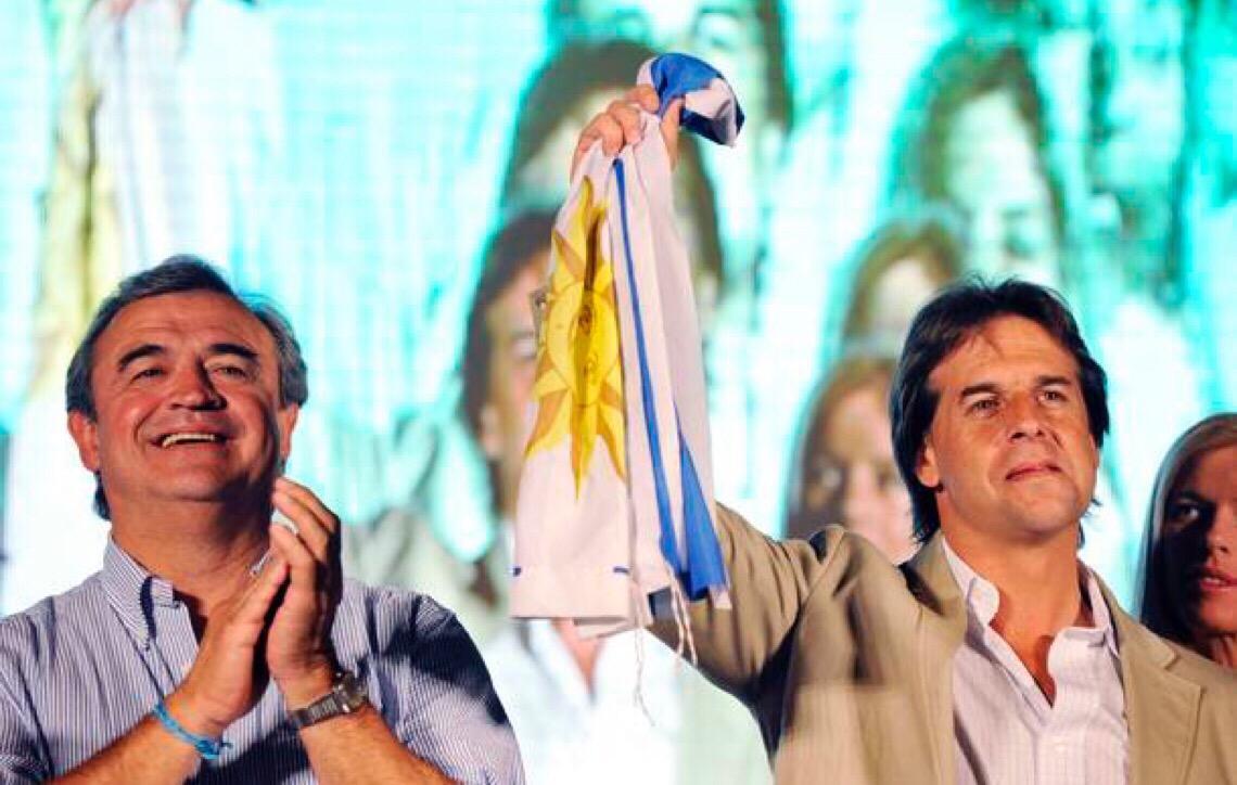 Jorge Larrañaga. 'Os uruguaios não podem ter problemas de insegurança'