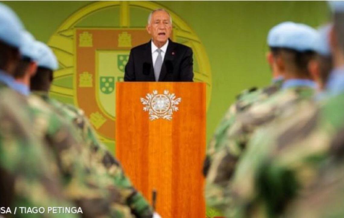 """Presidente de Portugal destaca """"elevada qualidade"""" do ensino militar"""