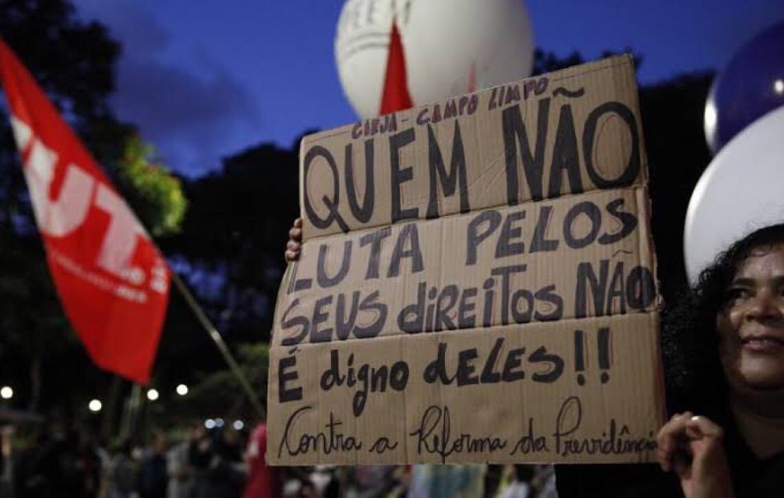 Para sindicalistas, intenção do governo brasileiro é dividir movimento