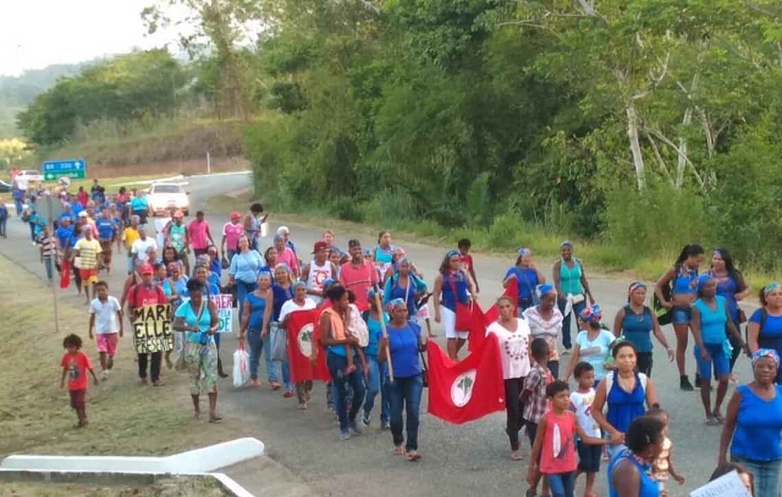 Mulheres ocupam mineradora australiana na Bahia contra modelo de exploração de níquel Unidade da Mirabela