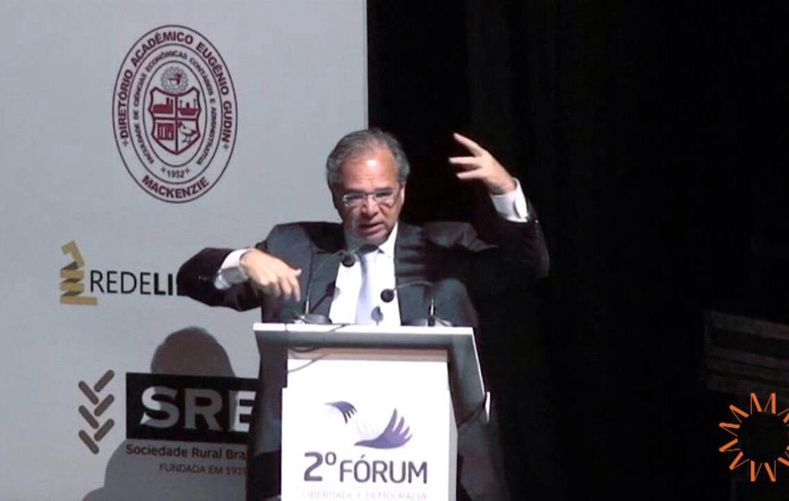 Ministro Paulo Guedes diz que faltam 48 votos para a Previdência
