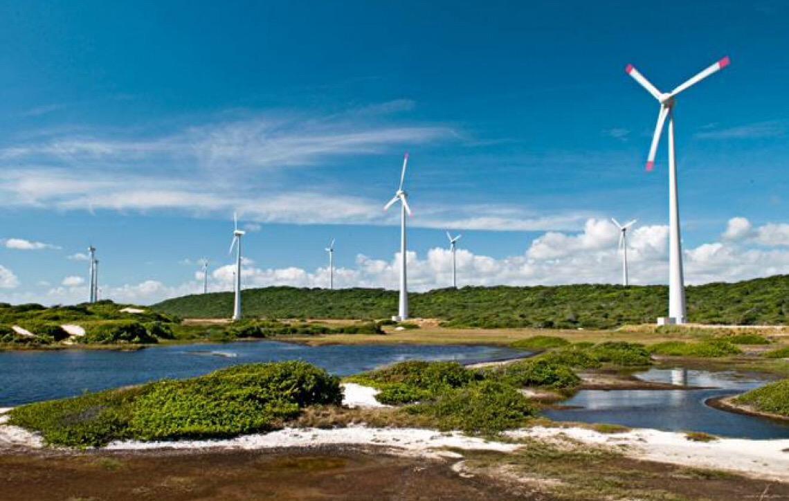 Geração eólica cresceu 45% ao ano na última década, no Brasil
