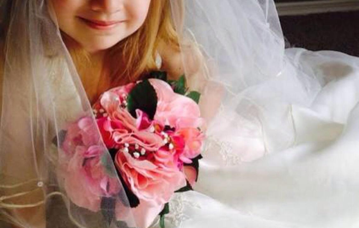 Casamento infantil, não