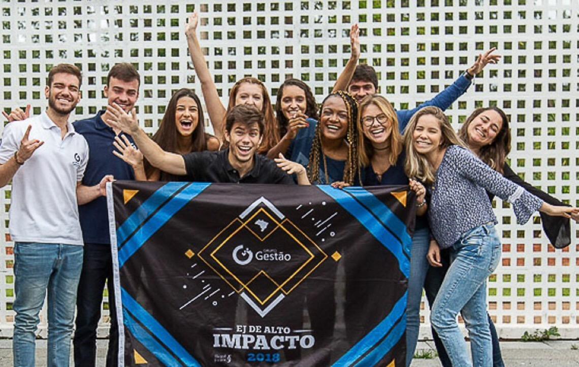 Empresa júnior da Universidade de Brasília é premiada melhor do Brasil