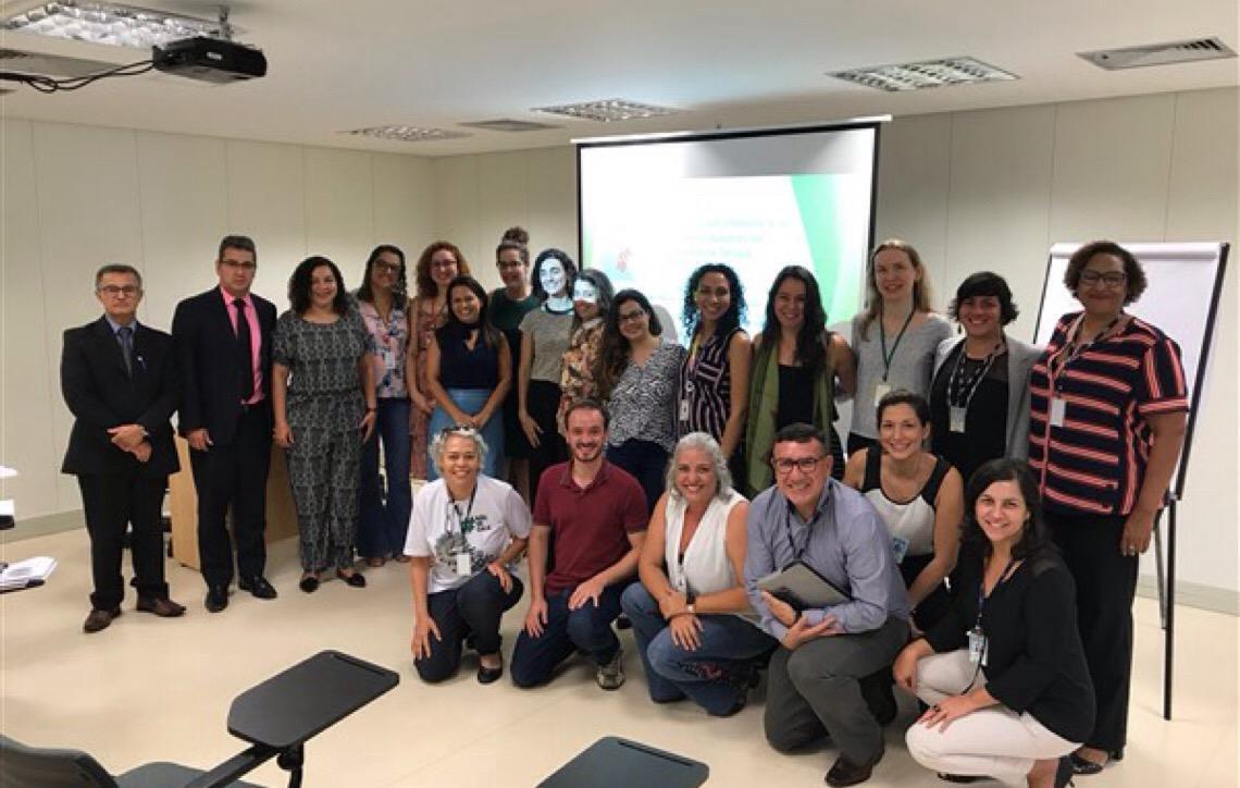 Nevesca promove trabalho em rede para combate à violência sexual em Brasília