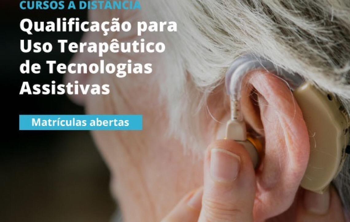 Nova oferta do curso de qualificação para o uso terapêutico de tecnologias assistivas