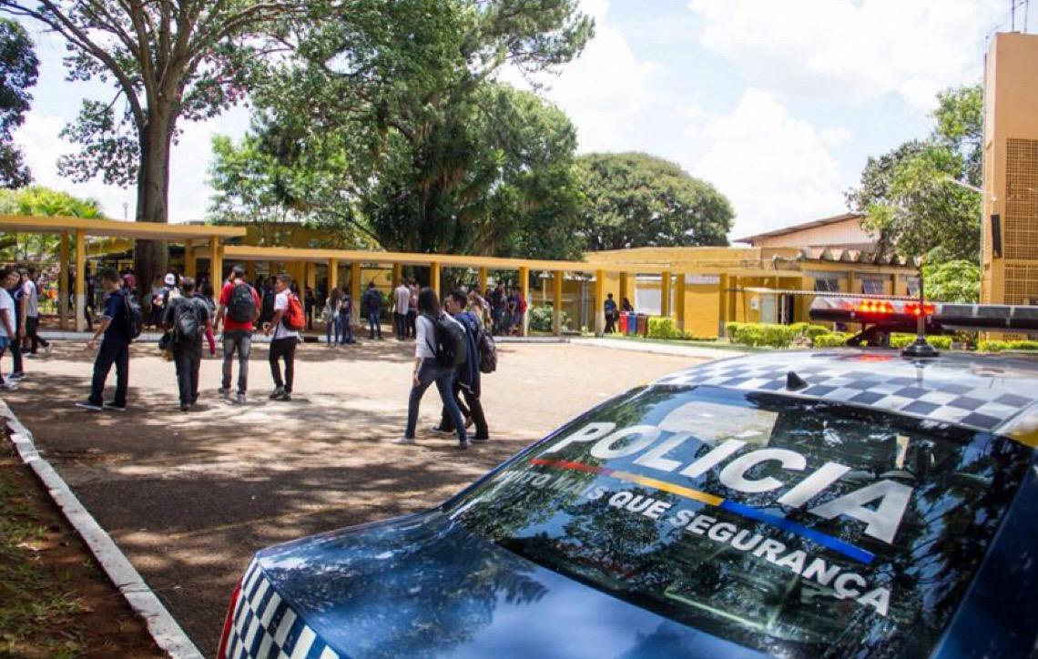 Identificados 11 responsáveis por ameaças a escolas de Brasília