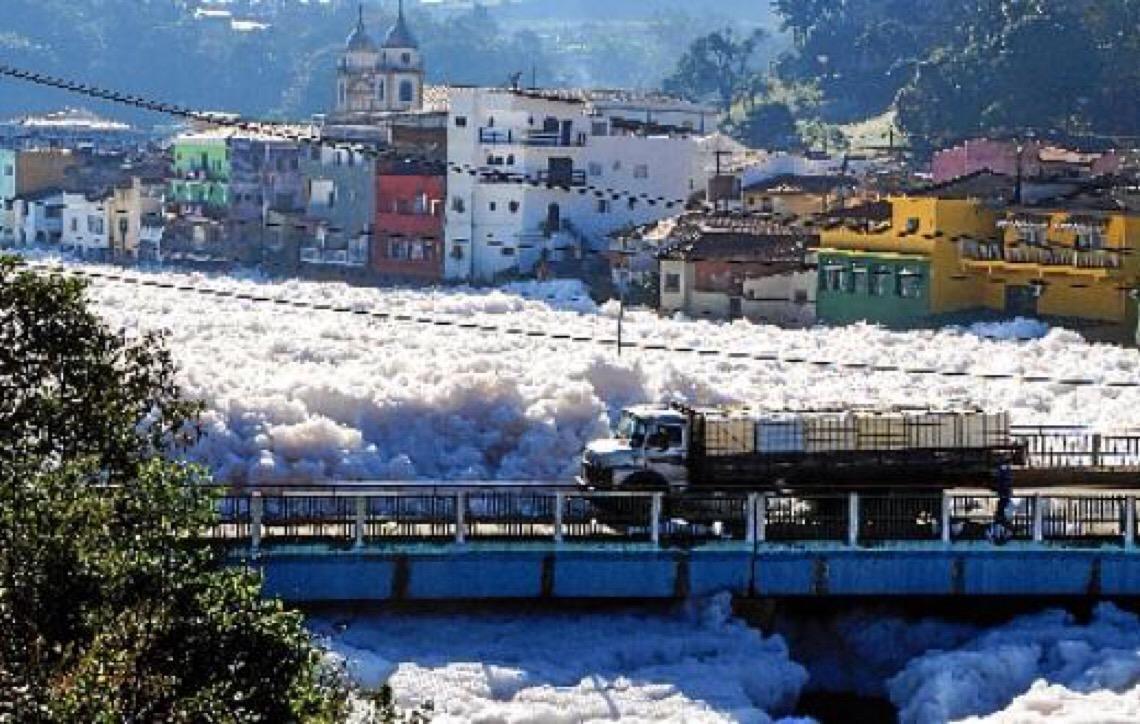 Apenas 6,5% dos rios do Brasil têm água boa