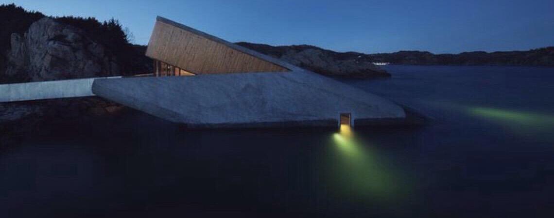 Empresa norueguesa inaugura primeiro restaurante submerso da Europa