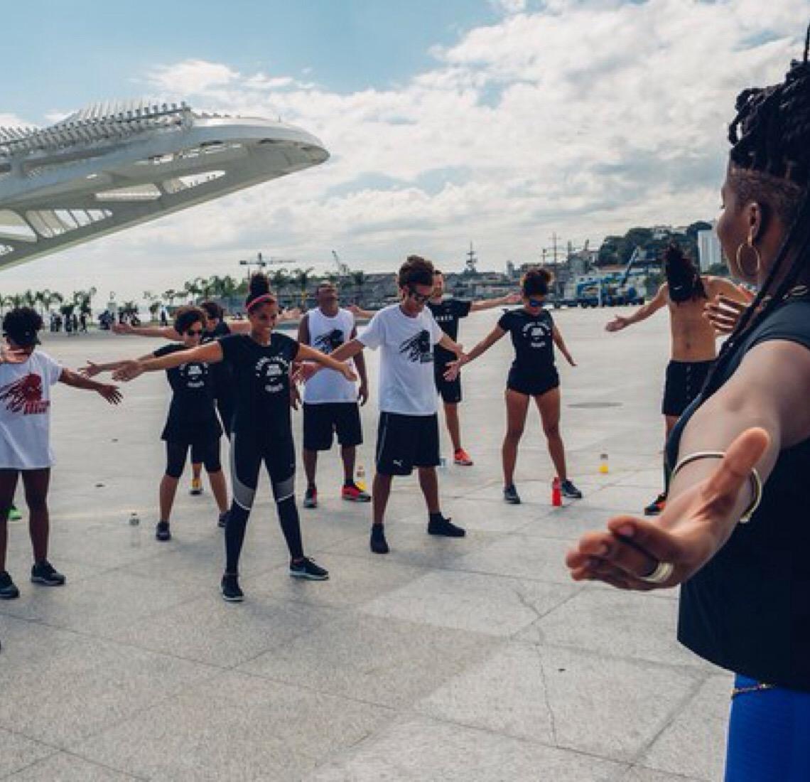 Gabb Cabo Verde. Coreógrafa ensina sobre autocuidado através da dança