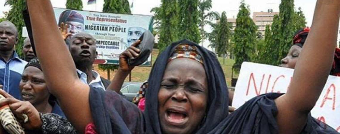Nigéria. O choro no escuro
