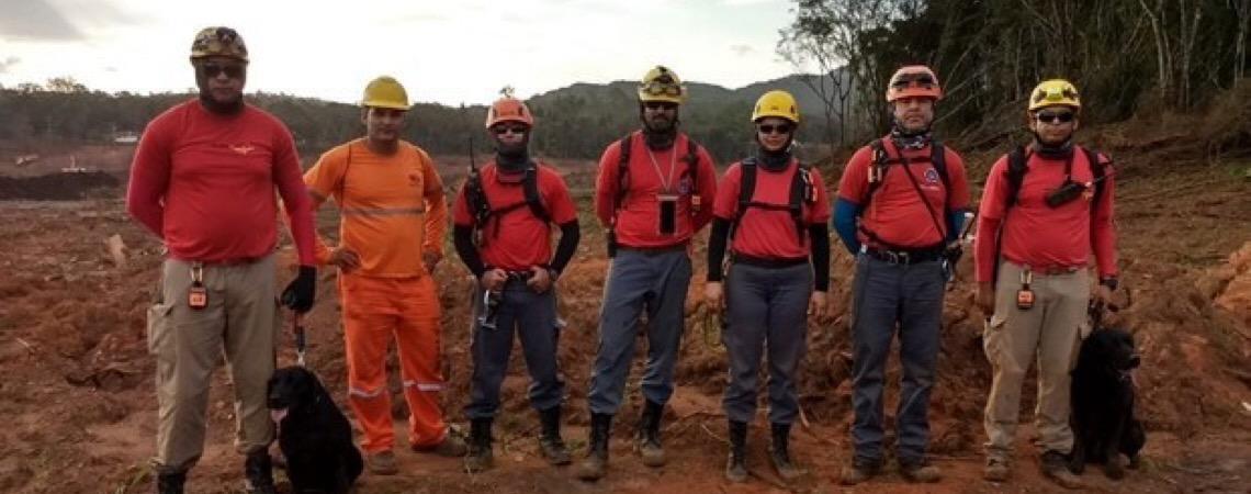 Governo de Goiás envia equipes do Corpo de Bombeiros para ajudar nas buscas em Brumadinho
