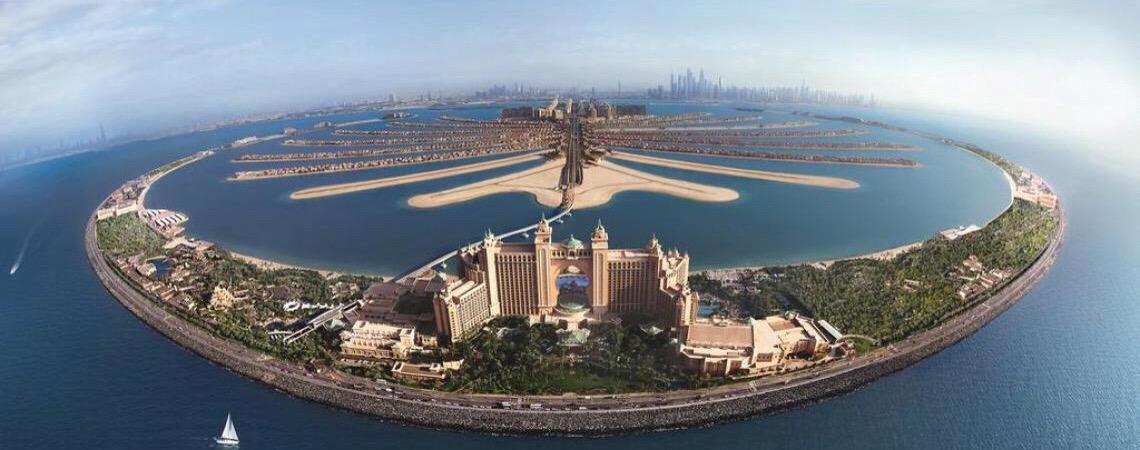Conheça a Palm Jumeirah, a ilha que pode ser vista do espaço