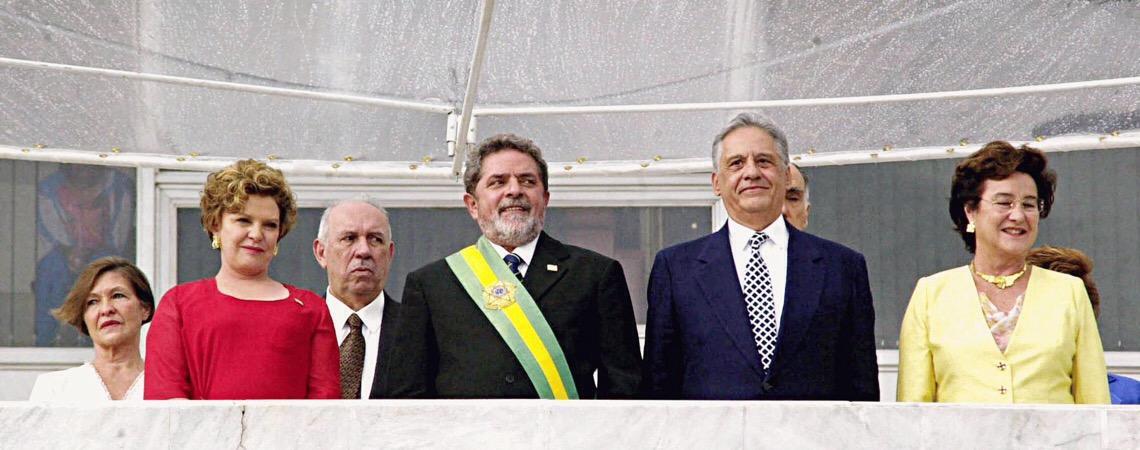 Lula é ladrão, se manca, Fernando Henrique!