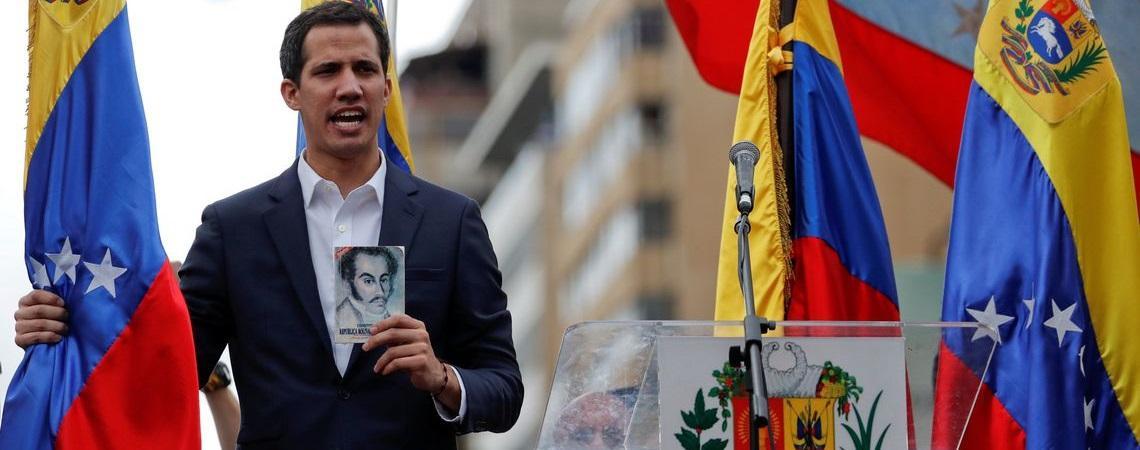 Guaidó convoca venezuelanos para