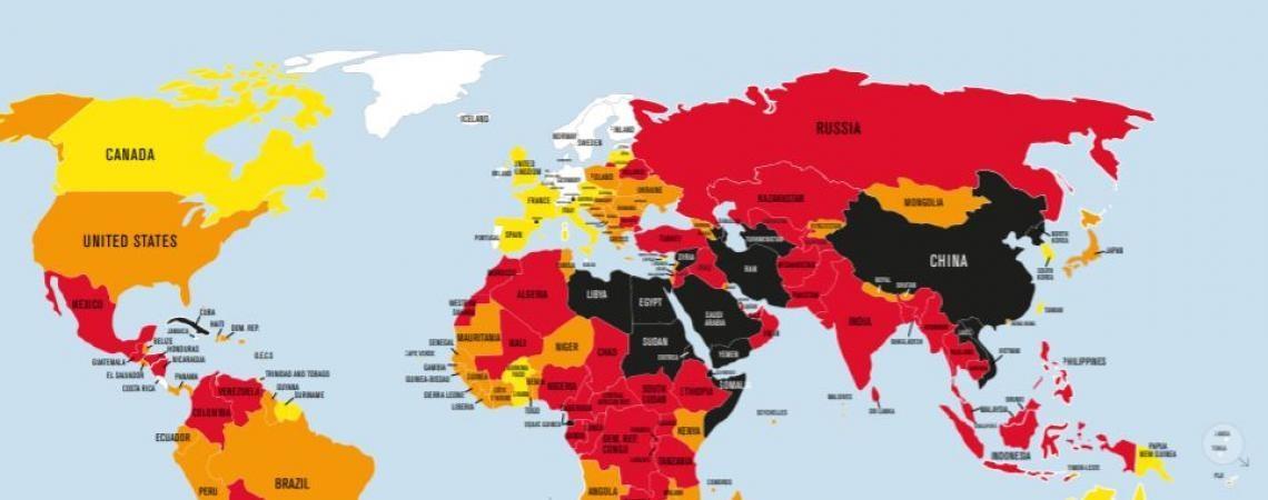 Portugal sobe no ranking da liberdade de imprensa