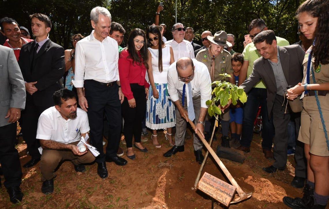 Governador de Brasília reinaugura Parque do Lago do Cortado totalmente reformado pela PaulOOctavio