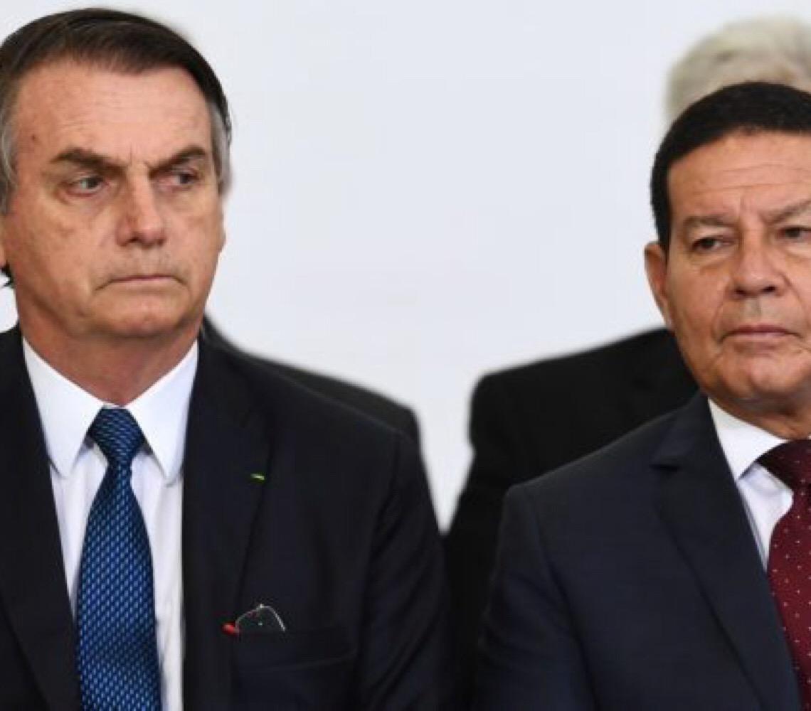"""Jair Bolsonaro: """"Vice é sempre uma sombra, mas por enquanto está tudo bem"""""""