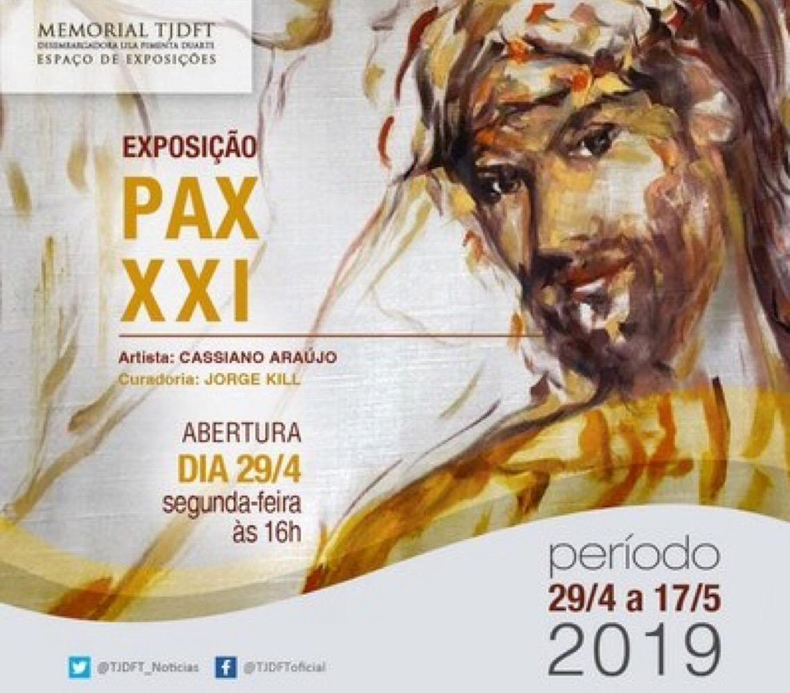 Memorial do Tribunal de Justiça de Brasília inaugura primeira exposição artística em 2019
