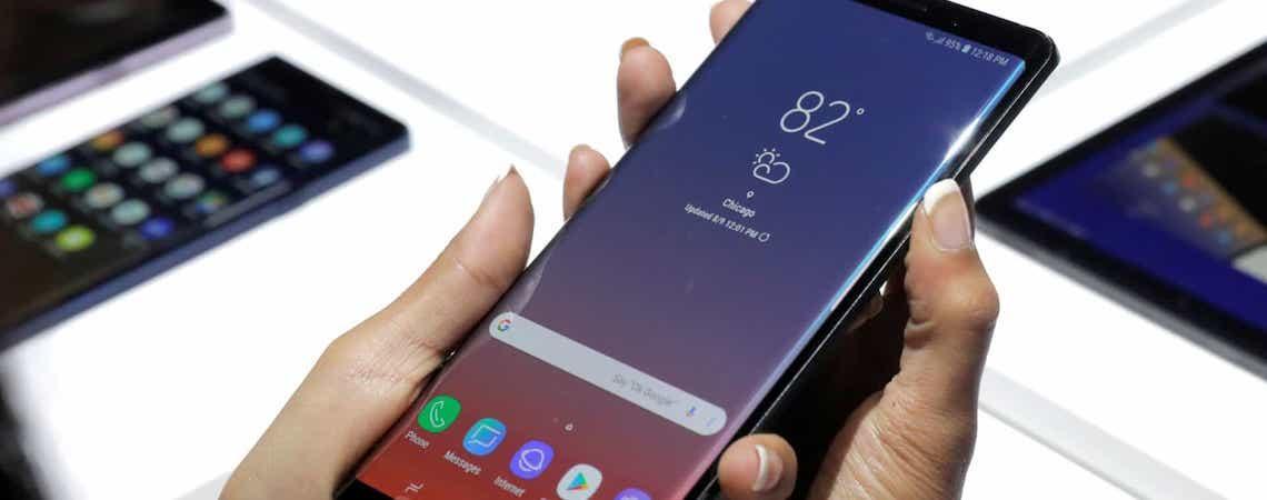 Tela do Galaxy Note 10 terá uma pequena novidade