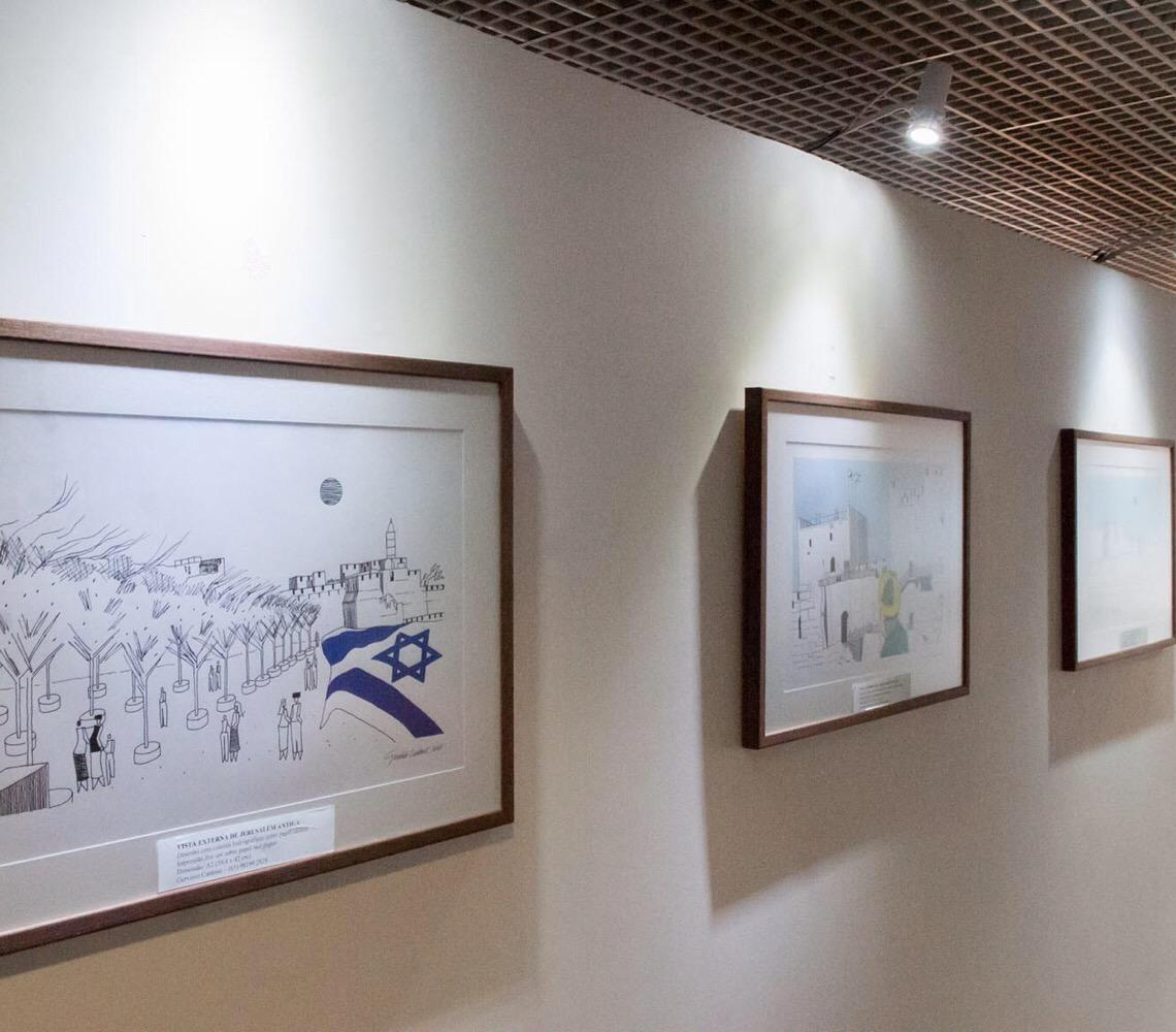 Exposição em Brasília celebra amizade entre Brasil e Israel