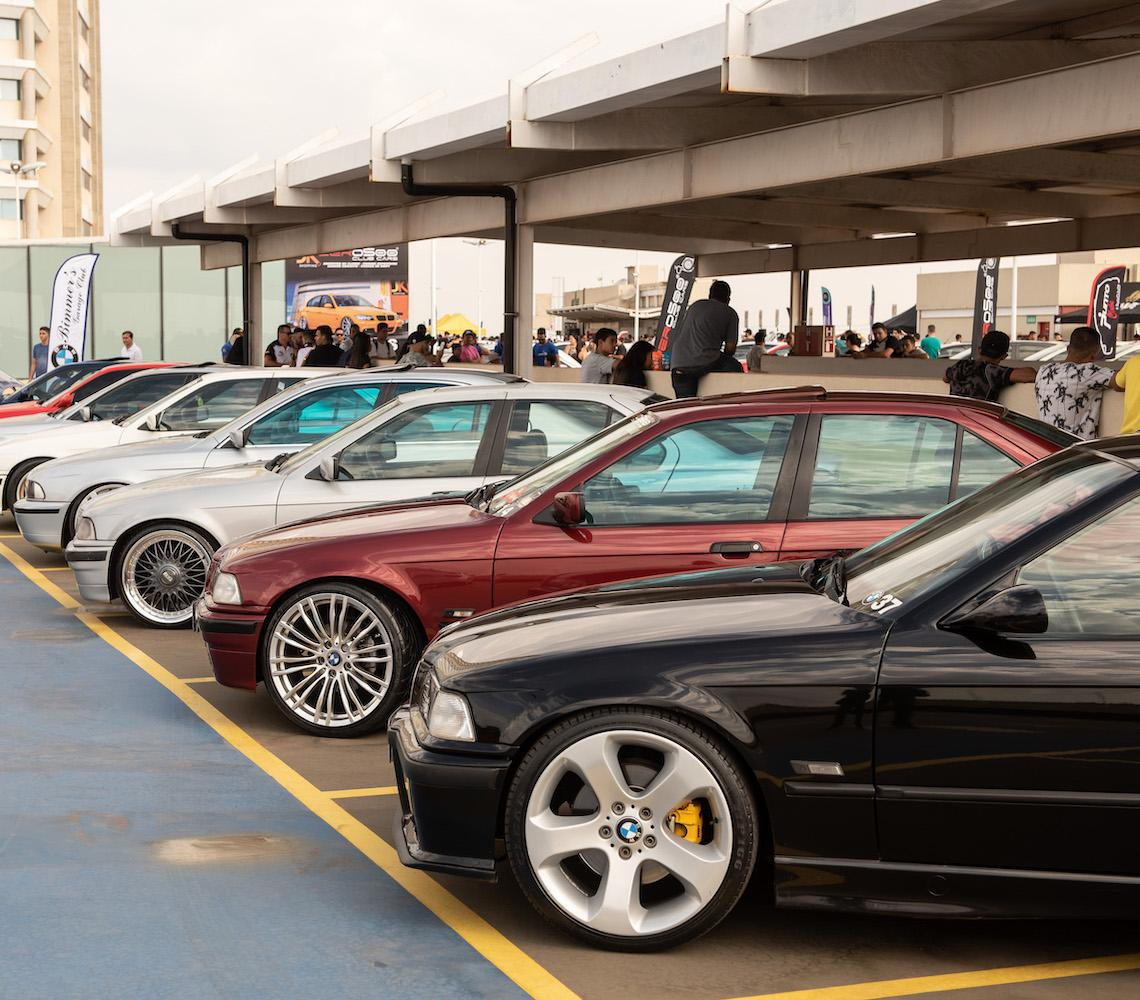 Encontro de Carros Modificados agita o domingo no JK Shopping