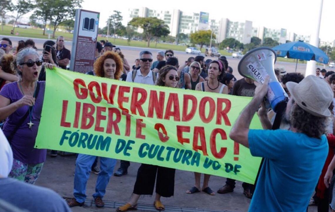 Governo de Brasília cancela edital de R$ 25 milhões do Fundo de Apoio à Cultura