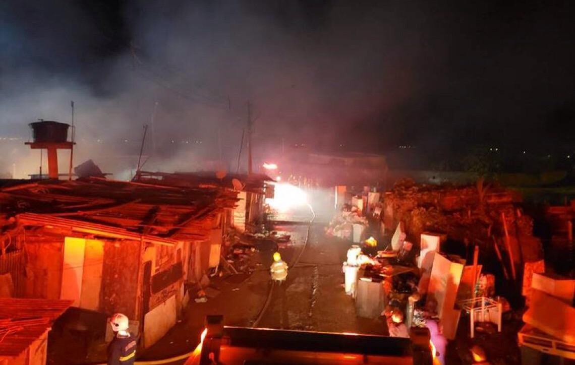 Polícia Civil em Brasília faz campanha de doação para 30 famílias vítimas de incêndio