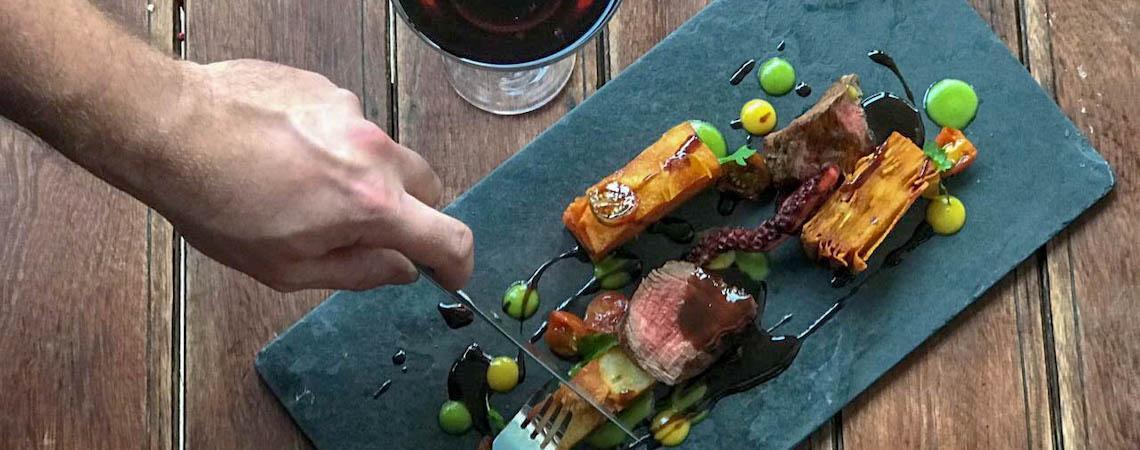Bla's cozinha criativa investe em combinações exóticas em seu novo menu