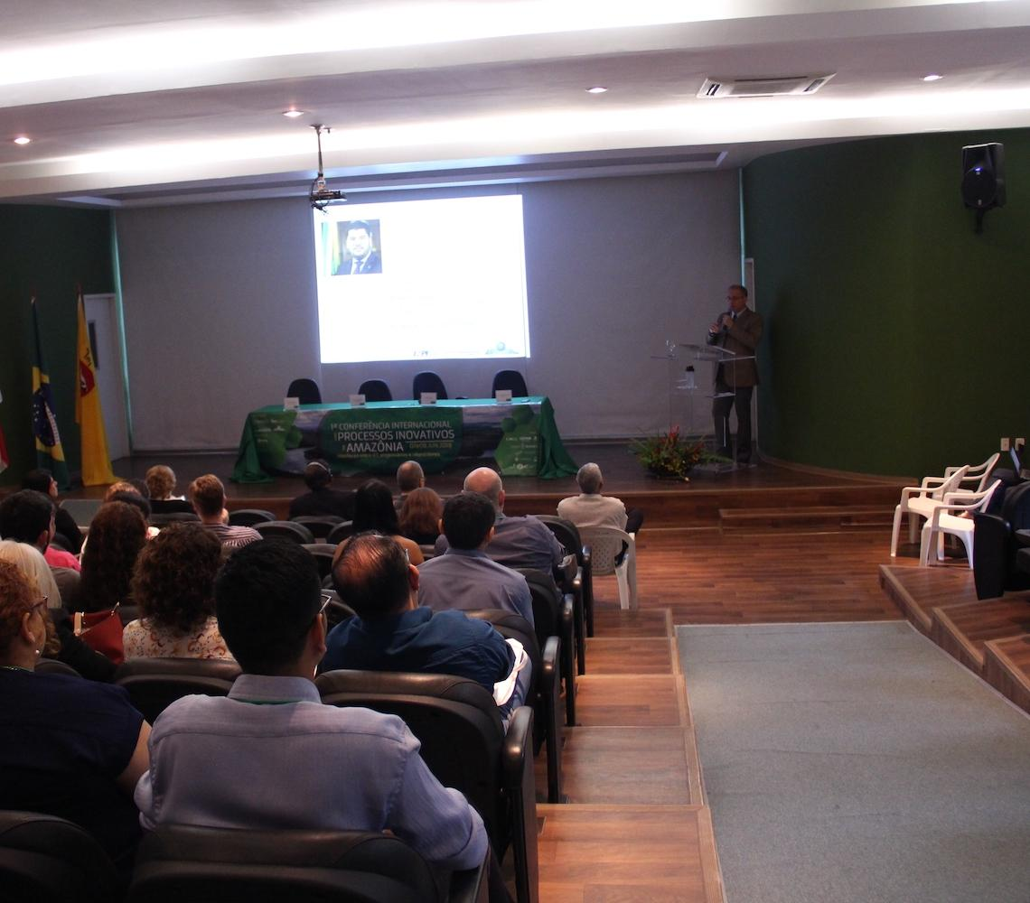 Amoci e Inpa realizam Conferência Internacional sobre Processos Inovativos na Amazônia