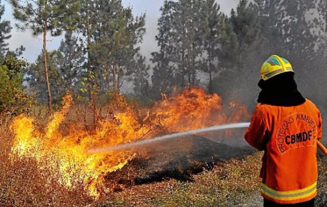 Cuidado redobrado em Brasília para evitar incêndios