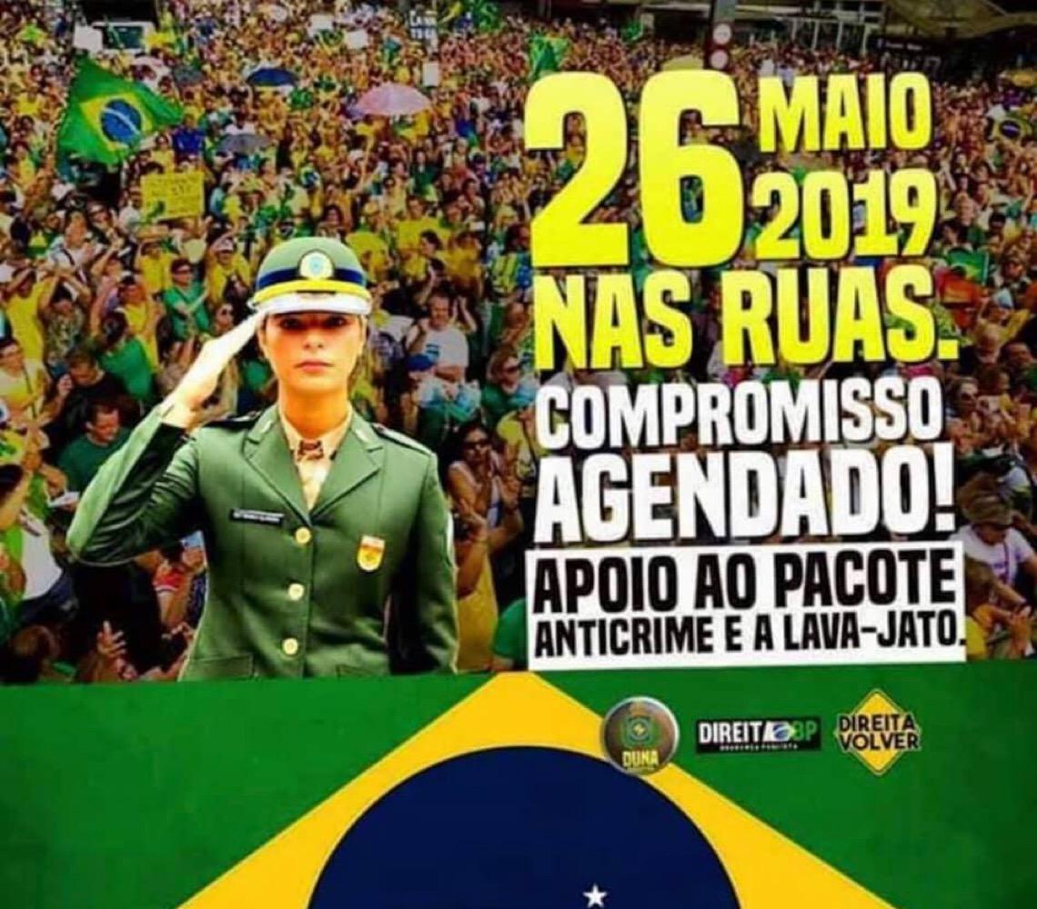Manifestação pró-Jair Bolsonaro pode se transformar num confronto com os petistas