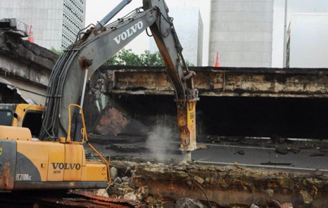 Pontes Costa e Silva, das Garças e do Bragueto, além de oito viadutos precisam de reparos imediatos