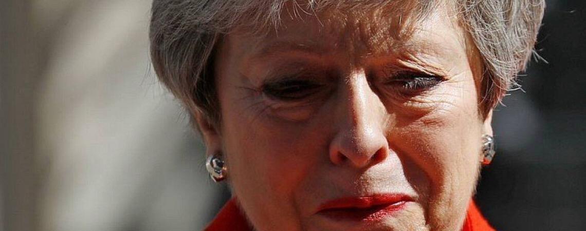 Theresa May renunciará ao governo do Reino Unido no dia 7 de junho