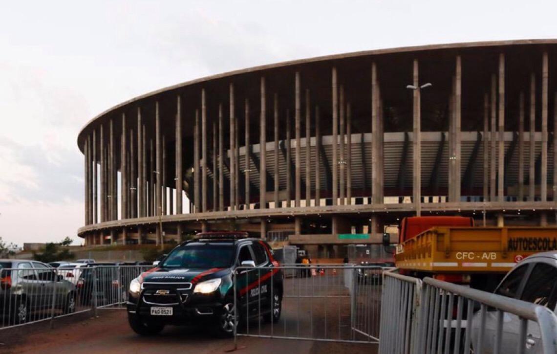 Polícia Civil em Brasília apura fraude na bilheteria de jogos de Corinthians e Vasco