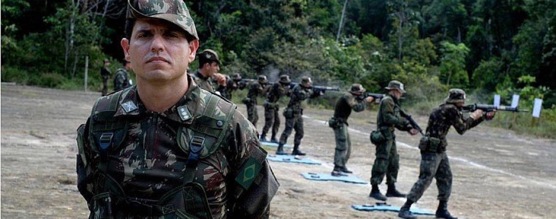 Militares do Exército brasileiro assumem missão de risco no Congo