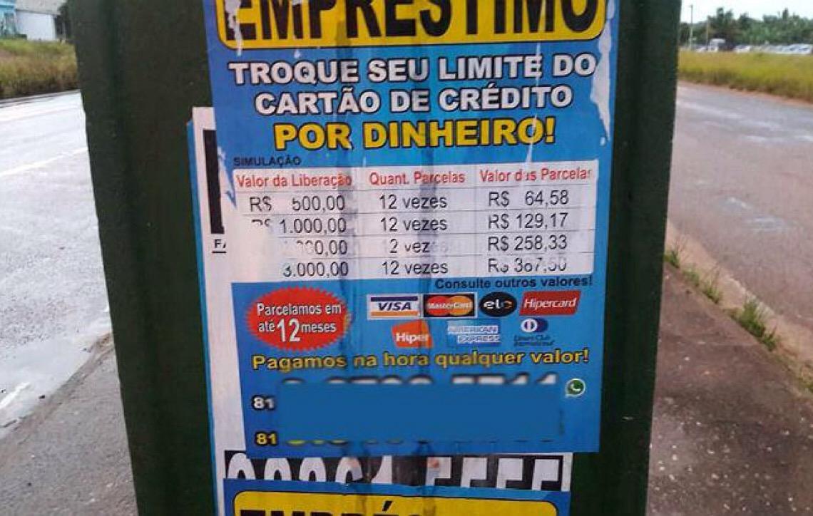 9c3c4e8df Maquininhas de cartão de crédito são usadas em Brasília como meio de  empréstimo clandestino