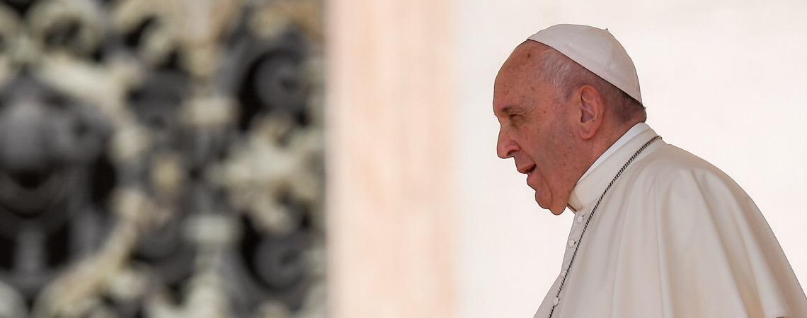 Papa Francisco. Judiciário e mídia têm sido usados para minar as democracias emergentes