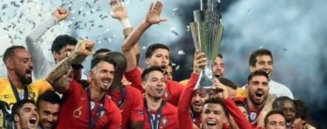 No estádio do Dragão. Portugal bate Holanda, fatura Liga das Nações e ganha 2ª taça europeia em 3 anos