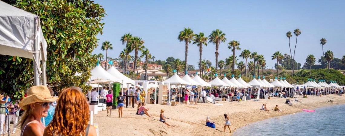Pacific Wine & Food Classic.  Festival de vinhos e comida na California EUA