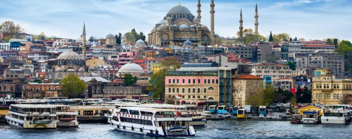 Turquia. É um marco da passagem de dois impérios