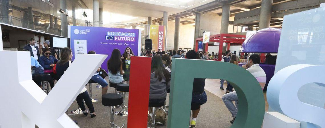 Campus Party movimentará Brasília a partir desta 4ªfeira