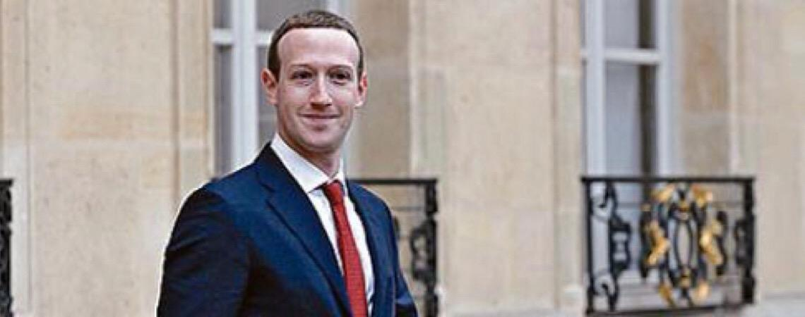 Mark Zuckerberg. Libra, do Facebook, poderá dar empurrão nas criptomoedas