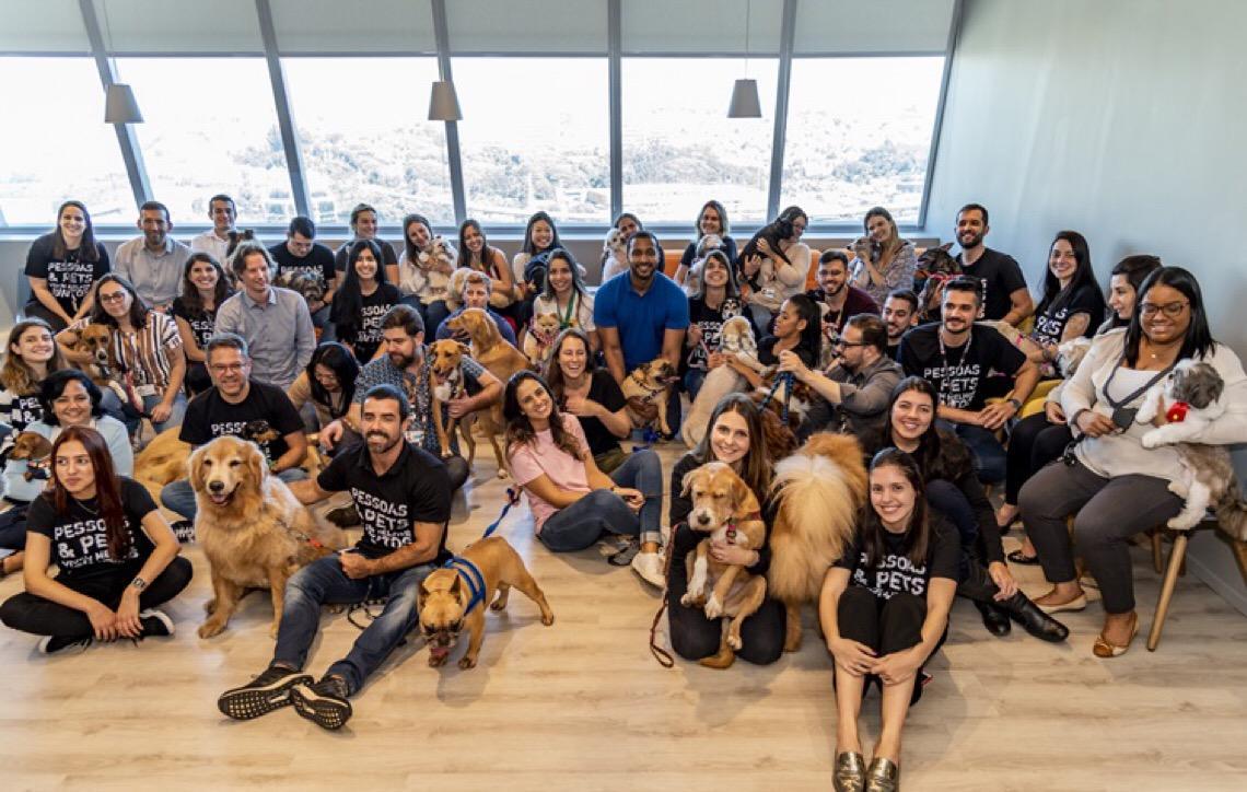 Pets são bem-vindos. Empresas começam a aceitar pets no trabalho