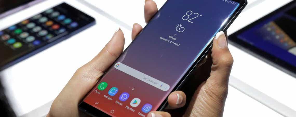 Samsung é acusada de ter enganado clientes com smartphones