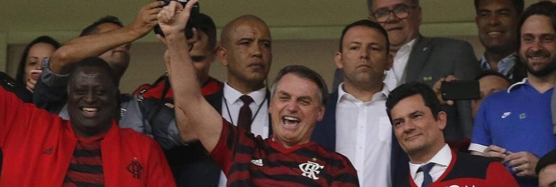 """Jair Bolsonaro leva Moro à final da Copa América. """"O povo vai dizer se estamos certos"""""""