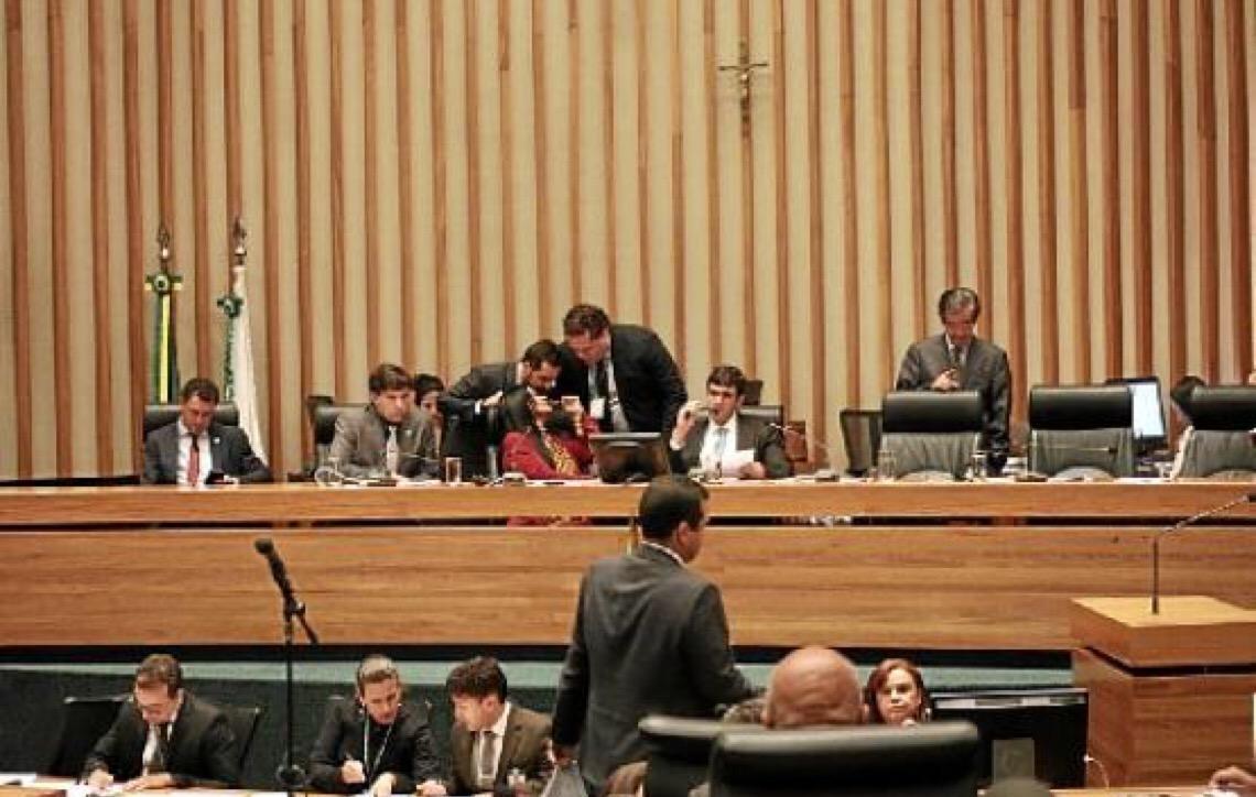 MP de Contas pede suspensão de grades da Câmara Legislativa em Brasília