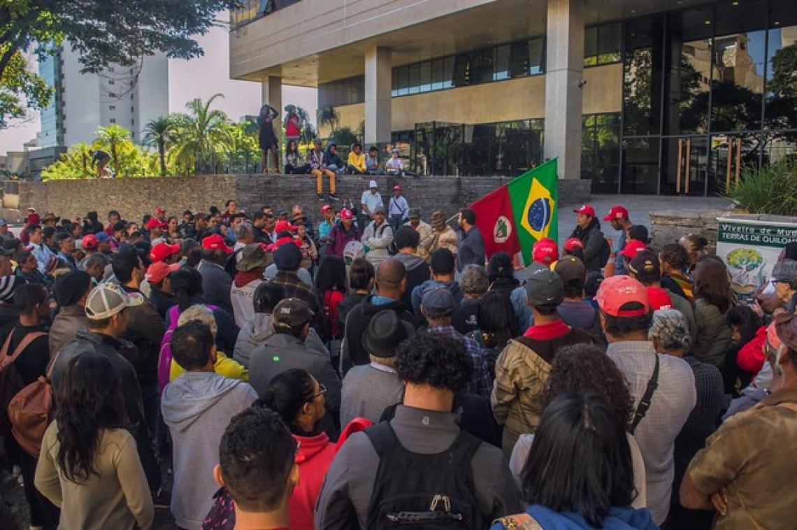 Justiça em MG nega reintegração de posse de acampamento do MST Quilombo Campo Grande